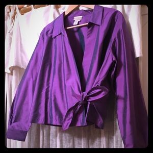 Coldwater Creek Silk Blouse
